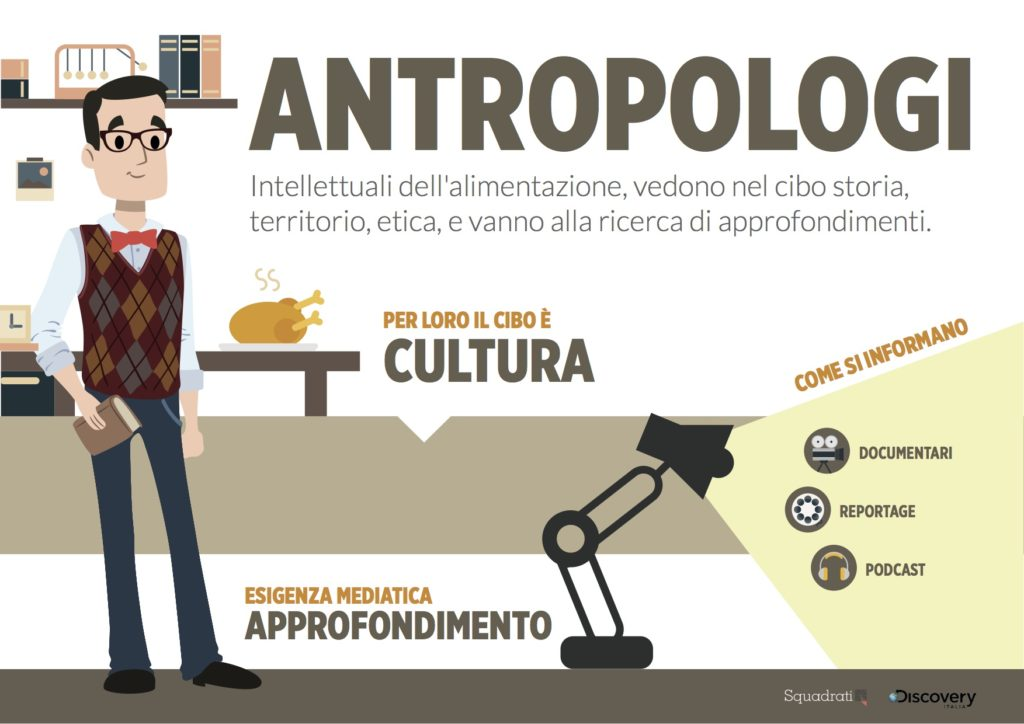 Antropologi - dieta mediatica dei food lovers